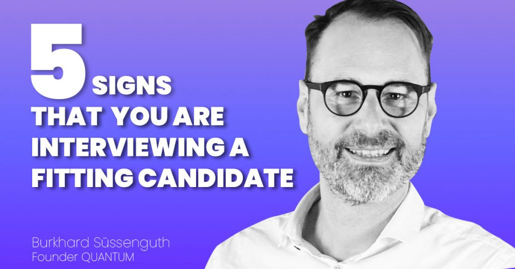 5 signs that you are interviewing the right candidate